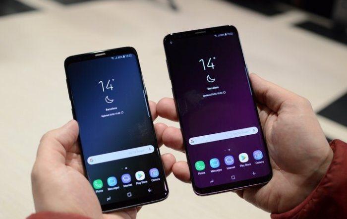 Можно выбрать конечно и Samsung Galaxy S9+.