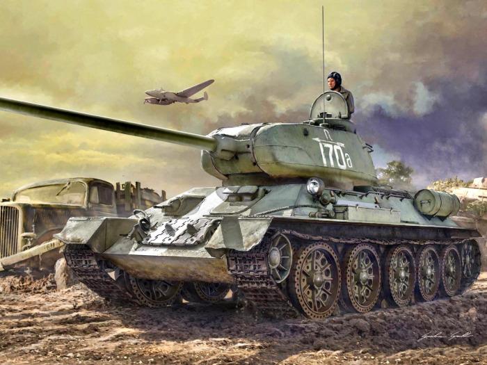Лучший из лучших все-таки Т-34-85. |Фото: goodfon.ru.