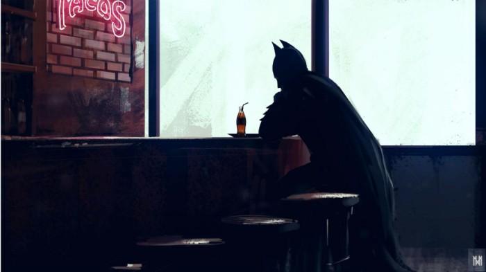 Бэтмен загрустил. ¦Фото: reactor.cc.