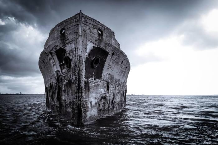 Идея кораблей из бетона появилась два века назад. beton-house.com.