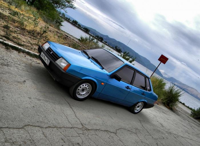 Первый автомобиль актера. |<br>Фото: drive2.ru.