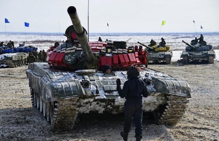 Танковый биатлон-2015.