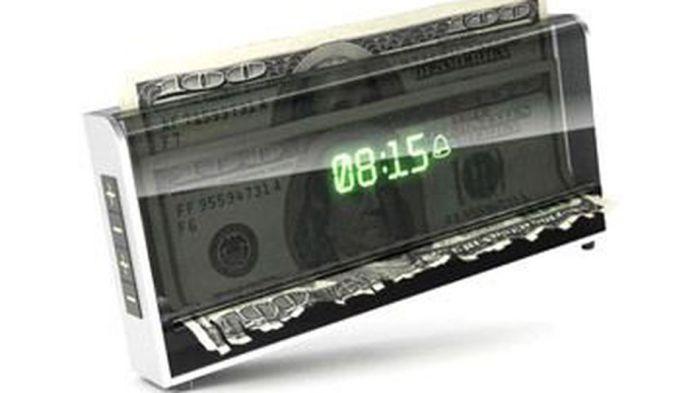 Время – деньги: будильник как наглядная иллюстрация.