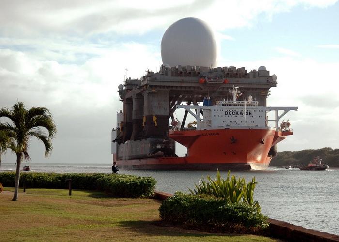 MV Blue Marlin мобильный сухой док.