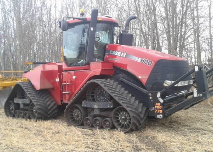 Трактор Case Quadtrac-600.