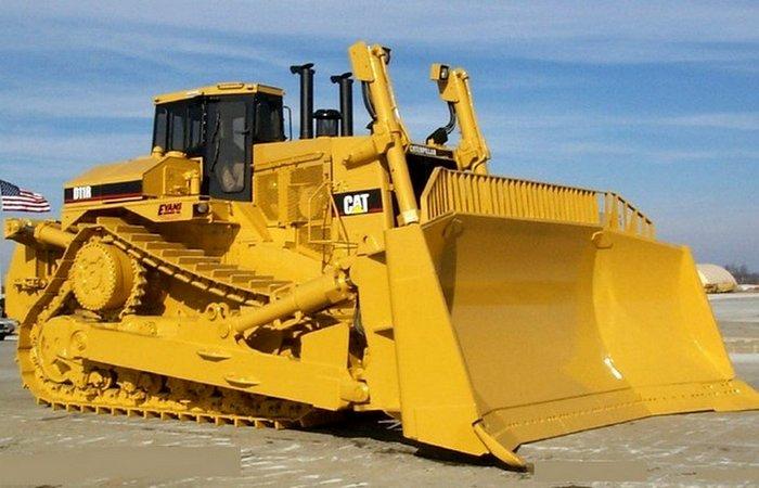 Бульдозер Caterpillar-D11R.