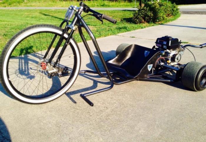 Big Wheel Drift Trike - необычный городской транспорт.