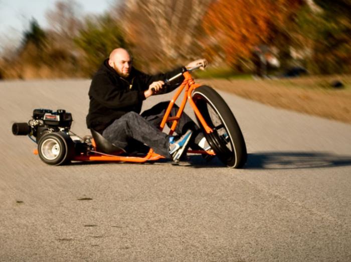 Big Wheel Drift Trike для городского дрифта.