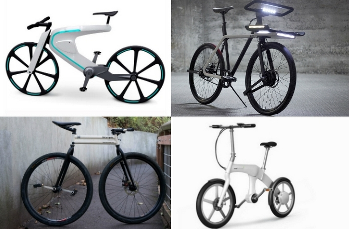 Самые необычные футуристические велосипеды.