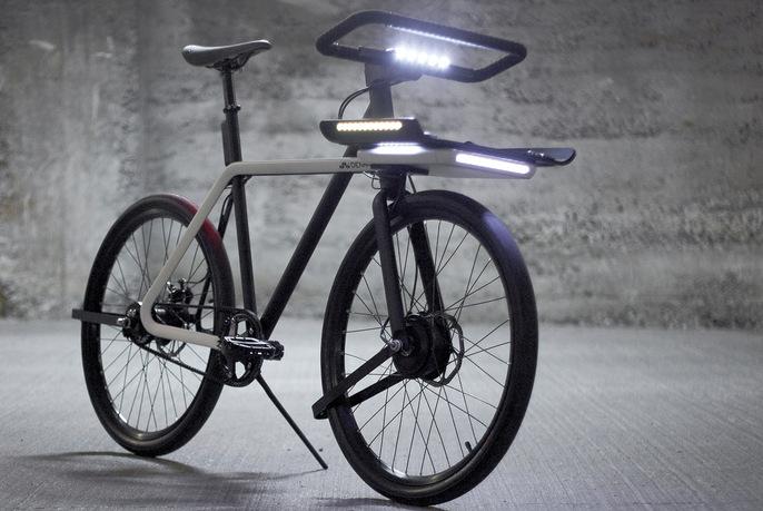 Велосипед Denny для дождливого климата.