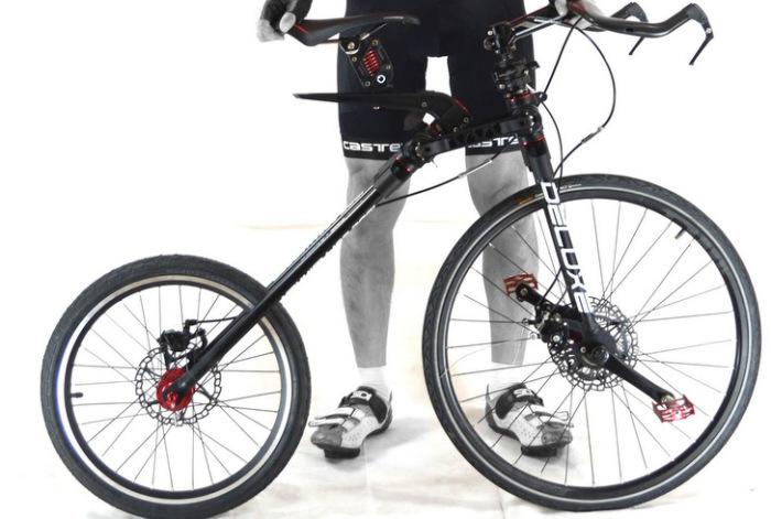 Странный велосипед MC2.
