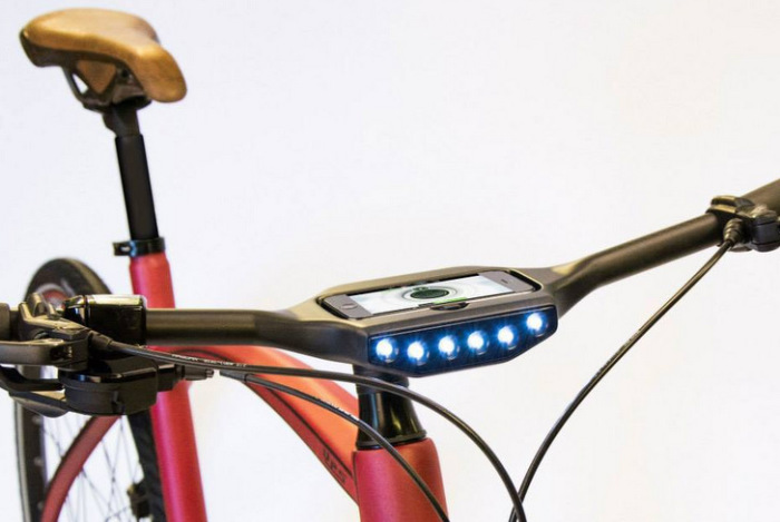 Mobilling - велосипед, управляемый смартфоном.