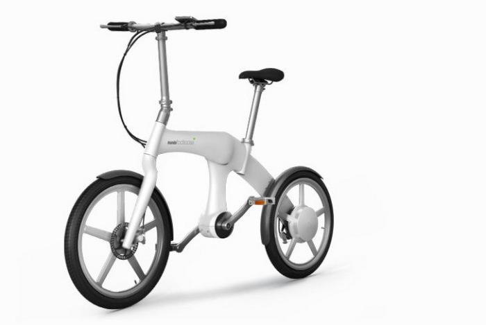 Миниатюрный велосипед Mando Footloose.