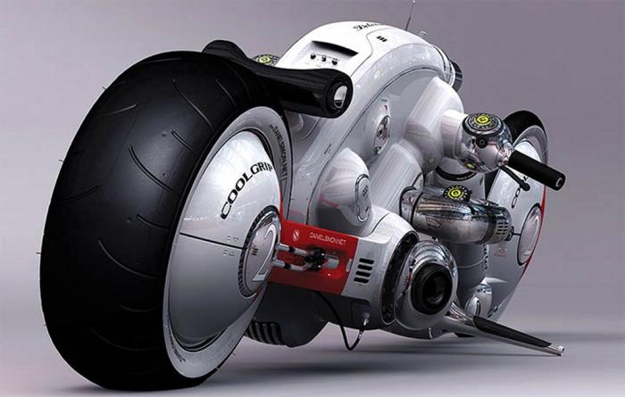 Detonator Motors - байк для гуманойдов.