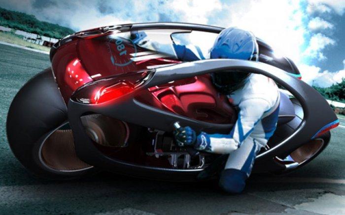 Hyundai Concept Motorcycle.