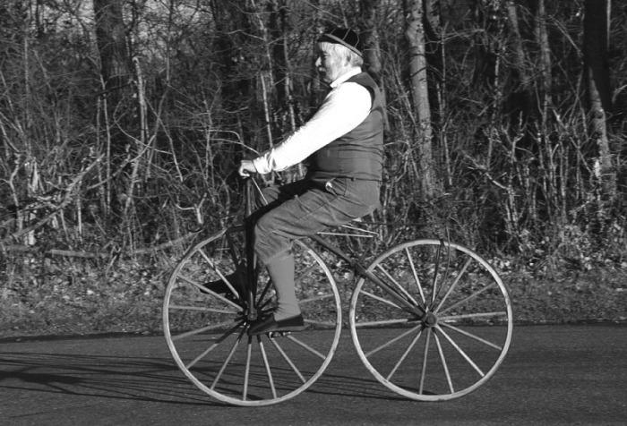 Занимательные факты из истории велосипедов.