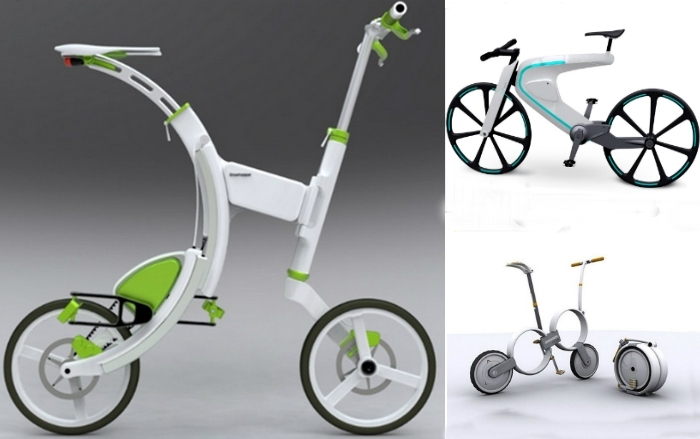 Необычные велосипеды для комфортных прогулок.