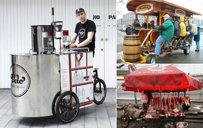 Гениальные идеи, как открыть собственный бизнес, имея только велосипед.