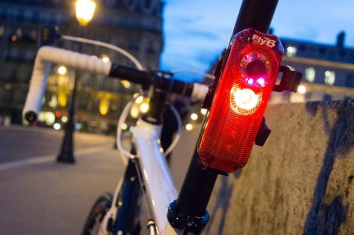Велосипедная камера FLY6 HD: с заботой о безопасности.