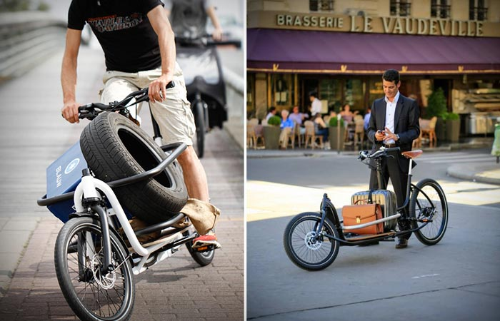 Messenger V2 Cargo Bike - грузовой велосипед с регулируемой рамой.