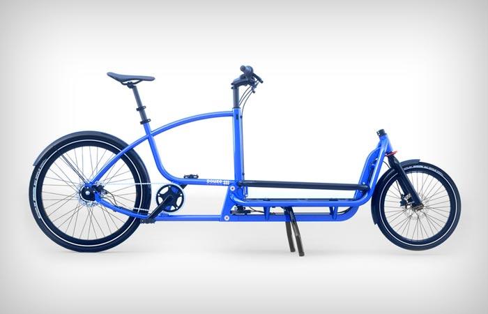 Грузовой велосипед для города.