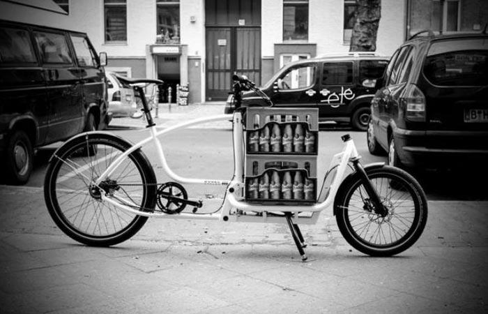 200 кг груза на одном велосипеде.