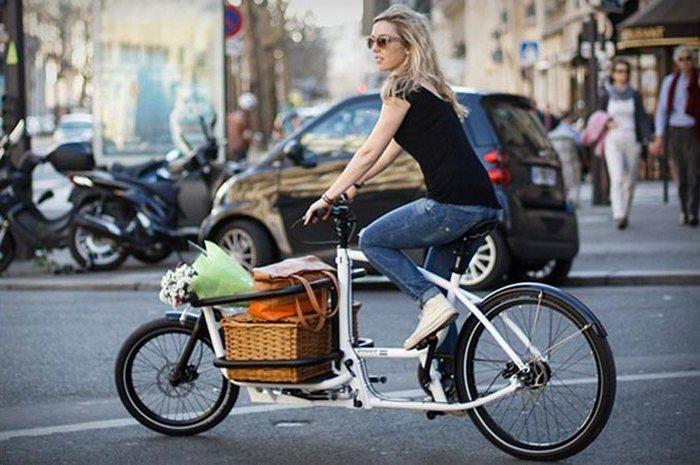 Удобный транспорт для города.