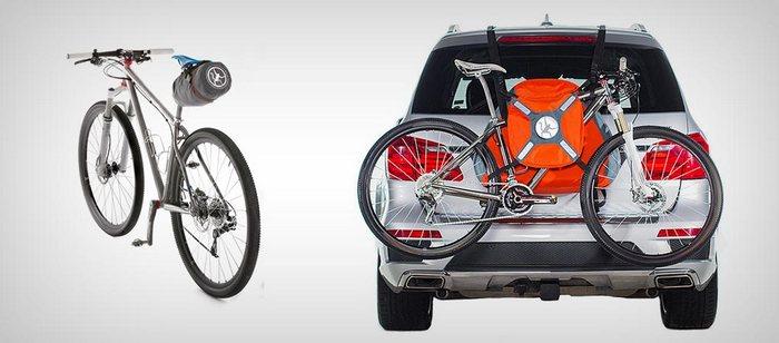Trunkmonkey - первый в мире велобагажник для автомобиля.