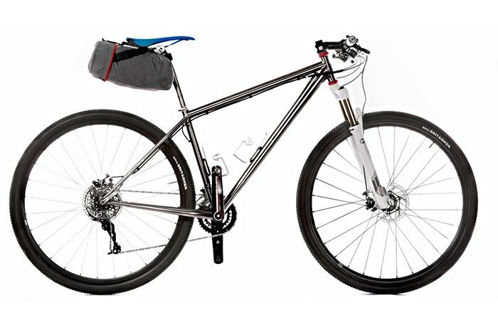Способ крепления Trunkmonkey  на велосипеде.