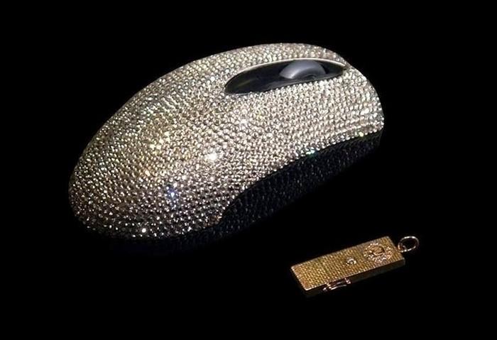 Компьютерная мышь от Swarowski и другие безумсно дорогие вещи.