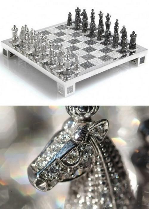 Шахматы Royal Diamond.