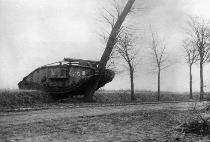 Перед Камбре у танков была плохая репутация.