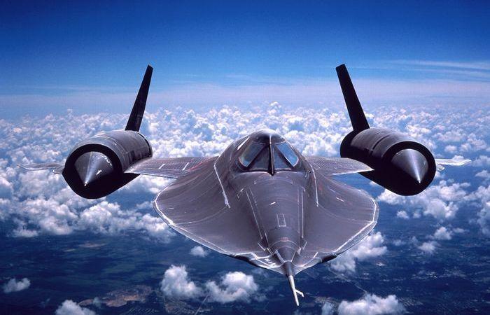 Несравненный SR-71 «Blackbird.