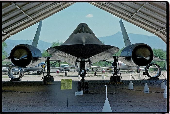 SR-71 «Blackbird»  - абсолютный рекордсмен