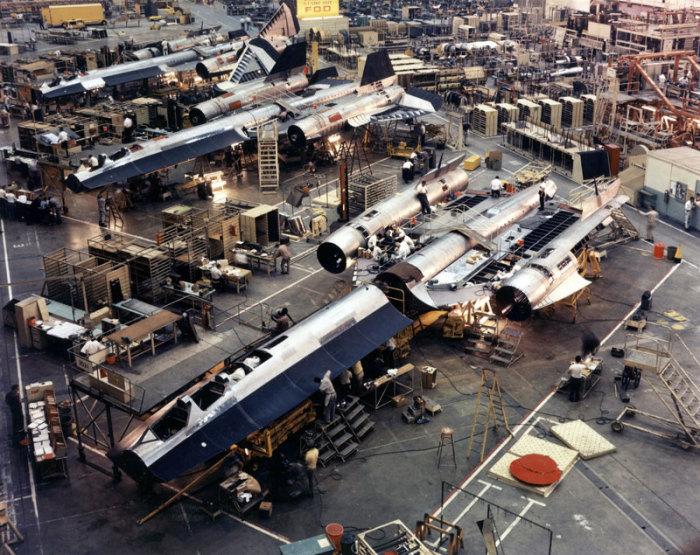 SR-71 «Blackbird» на земле.