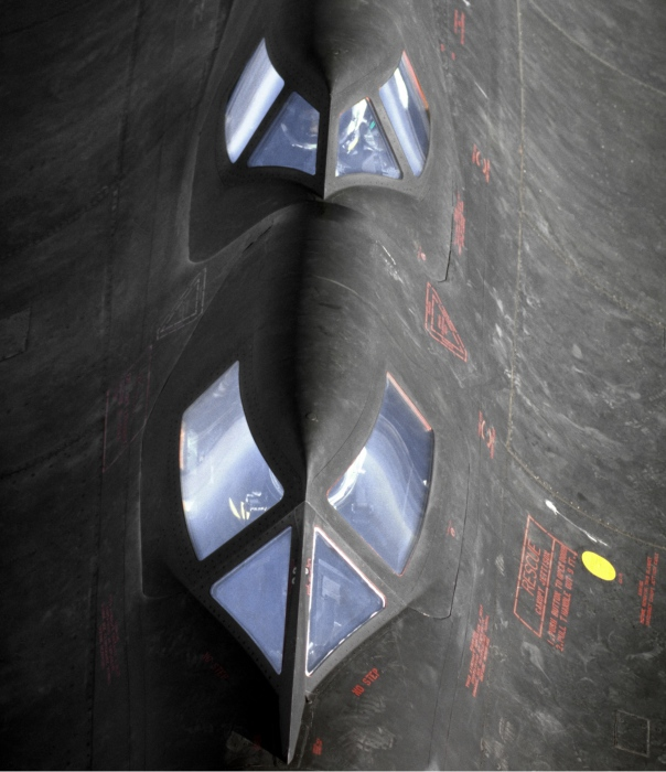 Кабина Blackbird с окнами, покрытыми кварцем.