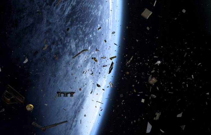 Космический мусор - глобальная проблема.
