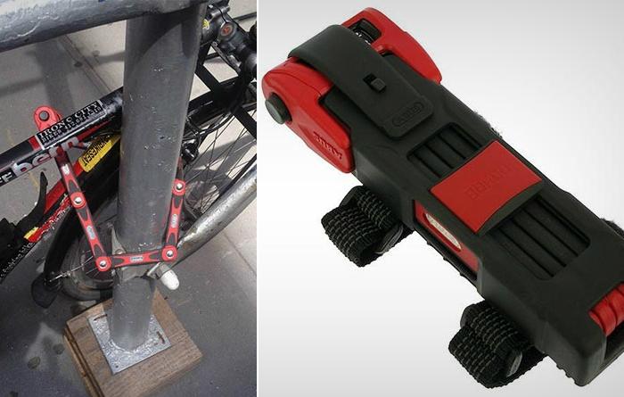 ABUS Bordo Combo 6100 - велосипедный замок, сломать который невозможно.