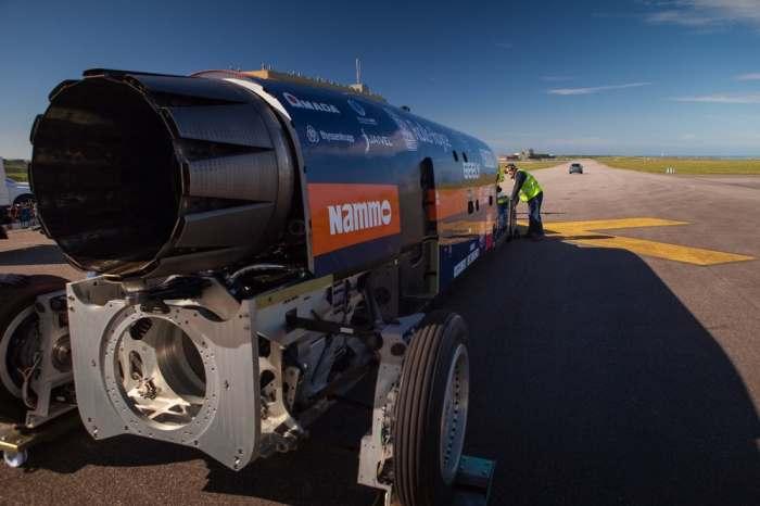 Огромная турбина.
