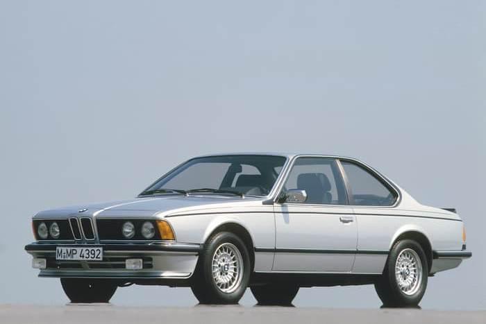Автомобиль BMW E24 6 Series.