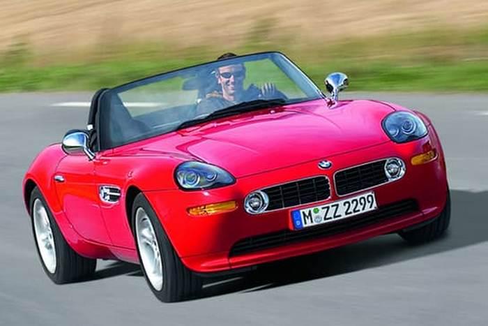Автомобиль BMW E52 Z8 Roadster.