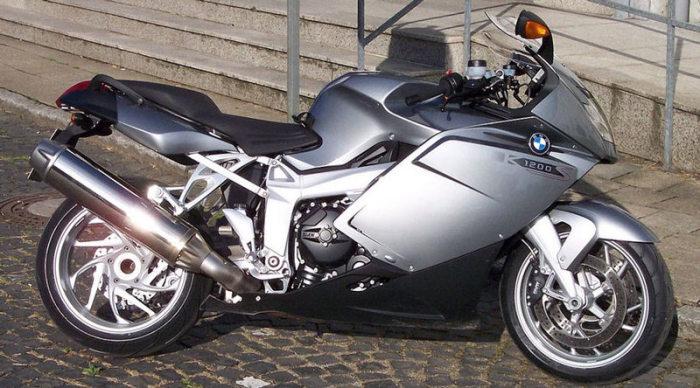 BMW K 1200S - 280 км/ч.