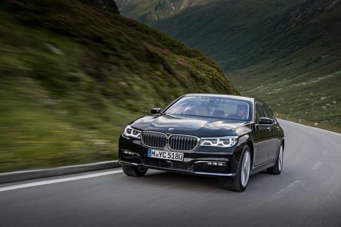 BMW 740e iPerformance: экономичная роскошь.
