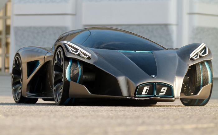 Плагин-гибрид i9 от BMW.