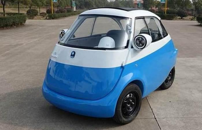 Электрокар Microlino EV.