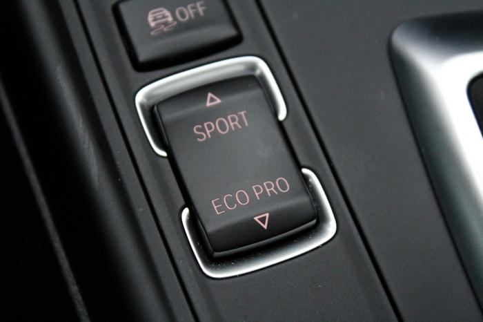 BMW M240i. Заветный переключатель Eco Pro.