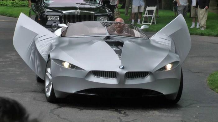 BMW Jina - автомобиль из спандека.
