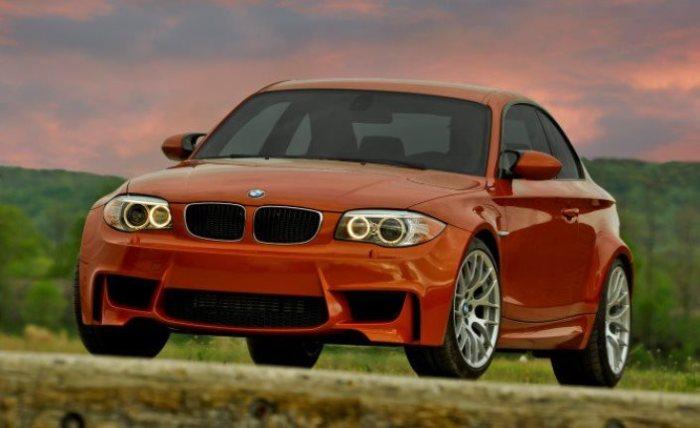 Компактный и широкий BMW 1-series M Coupe.