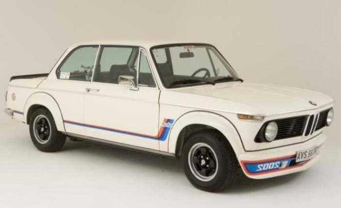 Настоящая революция своего времени BMW 2002 Turbo.