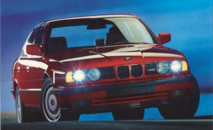 Лучше BMW M5 (E34) просто нет.